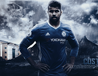 Diego Costa 2016/17 Wallpaper