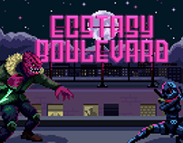 Ecstasy Boulevard - Promotional art
