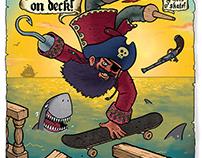 Cap'n Kickflip poster