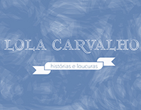 Identidade Visual | Blog | Lola Carvalho | Personagem