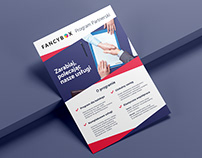 Fancybox - flyer design