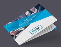 ProBiz – Business & Corporate Brochure Bi-Fold A5