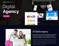 JD BizX - Multipurpose One Page Joomla Template
