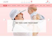 Baby Care Banner/Slider