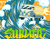 POSTER SUBLIME WITH ROME