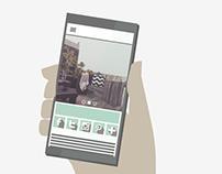 Iconos sociales. Ilustración + Diseño web