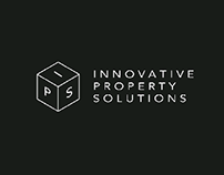 Innovative Property Solutions Minimal Logo Design