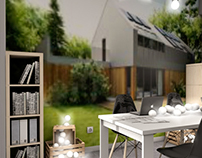 Project 10 m2 order for the company Hybrid Houses