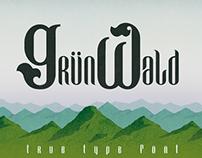 GRÜNWALD - Free Font