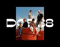 DOB Display - DOB68 Brand Typeface