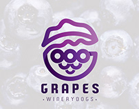 Grapes Winery Dogs Logo