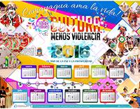 Diseño Calendario Año 2016