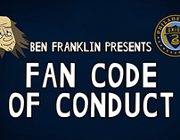 Ben Franklin Code of Conduct
