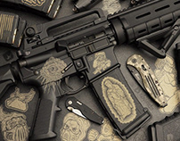 Fragout Firearms - Vector Graphics for Laser Engraving