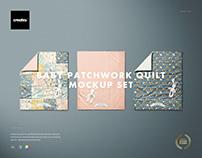Baby Patchwork Quilt Mockup Set