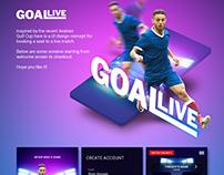 GOAL LIVE UI Design