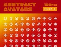 Abstract Avatars - SVG symbol sprite