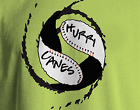 hurricanes baseball team shirt