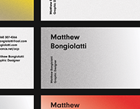 Matthew Bongiolatti Personal Branding