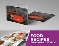 Food Recipes Brochure Catalog