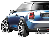 2013 MINI F56 Hatch (production car)