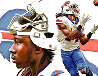 Sammy Watkins Digital Painting