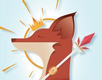 King of Diamonds Fox