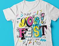 90s Fest Lettering