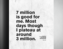 7 million is good for me