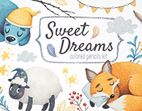 Sweet Dreams Illustration Kit