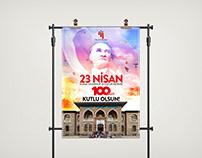 23 Nisan Poster