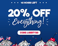 20% OFF Everything for the Next 48 Hours!