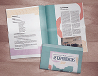 PERIÓDICO AS EXPERIÊNCIAS - Design Editorial