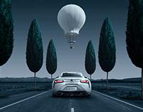 Lexus 500H超现实主义大片