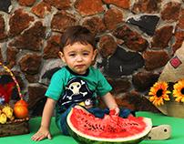 Photo Shoot - Luan: Smash the Fruit