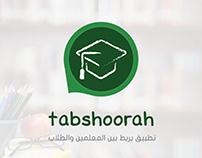 tabshoorah logo & brand