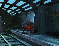 [3D] BattleCast Vel'Koz modélisation 3D sur Maya
