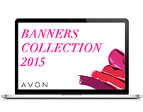 Rich media banners collection 2015 for AVON
