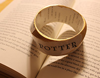 Harry Potter Book Bracelets