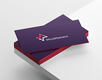 Mind Matters - Logo design, brand identity & website