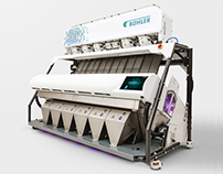 Buhler Sortex S Ultravision - Optical sorting machine