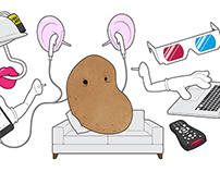 Whatever Happened to the Couch Potato?