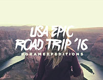 The USA Epic Road Trip '16 #GRAMexpeditions