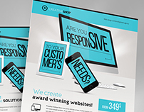 Creative Web Agency Flyer