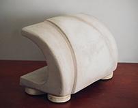 Concrete Jaws - Lamp