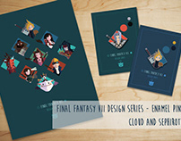 FFVII Design Series: An enamel pin tribute