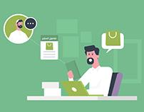 explainer video for etqan digital services