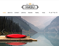 HASU Multi-Purpose Blog Magazine PSD Template