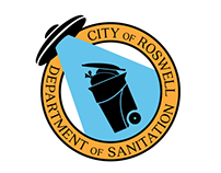 Roswell Dept. of Sanitation Logo