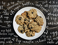 Oatmeal Raisin Recipe Mock Up